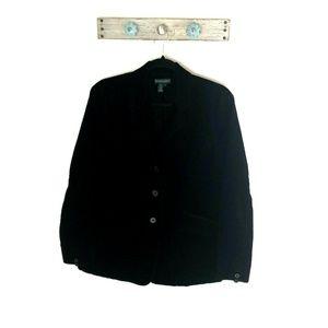 Ralph Lauren Jeans Co size L Black Corduroy Blazer